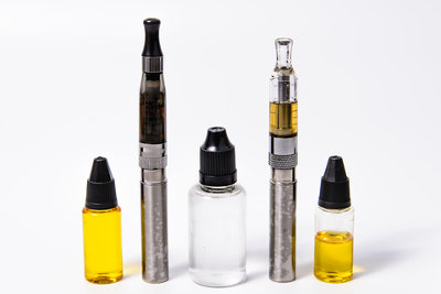 E Cig and Juoce Bottles